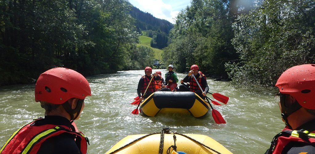 Rafting im Gröbminger Land